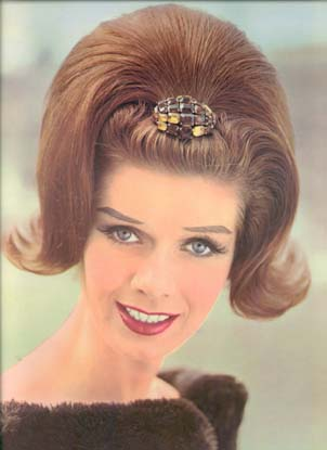 1960 s hairstyles on French Coiffures From 1962